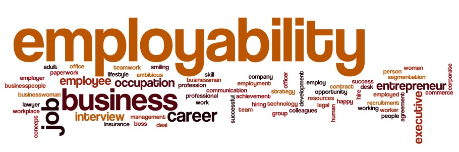 Employability wordart visual