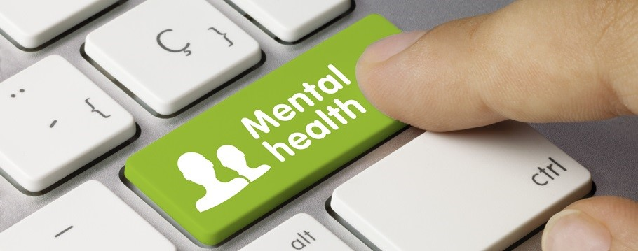 Image to illustrate online resources regarding mental health support